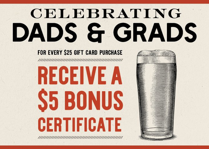 Dads and Grads Gift Card